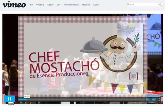 Video Chef Mostachó